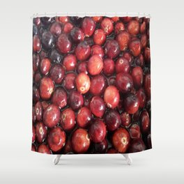 CRANBERRIES GALORE Shower Curtain