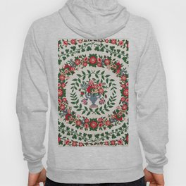 Floral Fabric Vintage Gift Pattern #9 Hoody
