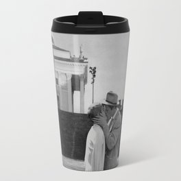 Collage Á bout de souffle (Breathless) - Jean-Luc Godard Travel Mug