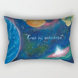 Eres mi universo Rectangular Pillow