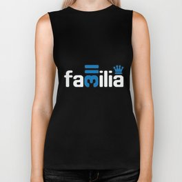 Familia - Blue Biker Tank