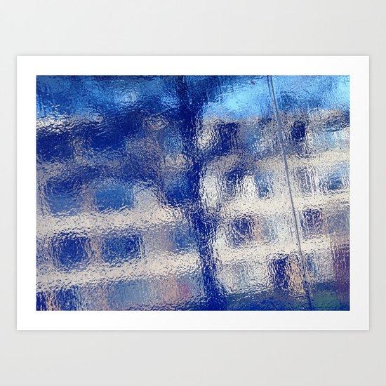 Urban Abstract 92 Art Print