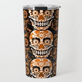 Halloween Calaveras Travel Mug