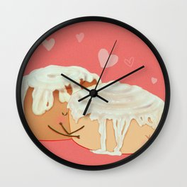 Cinnamon Butts Wall Clock