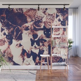 Cats. Forever. Wall Mural