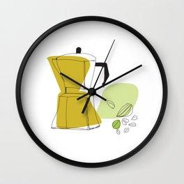 GourmetCoffee Wall Clock
