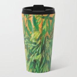 Ash-Tree, green & yellow Travel Mug