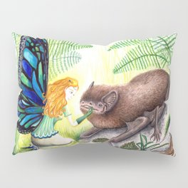 The fairy and the bat Pillow Sham