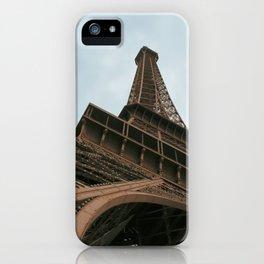 Under The Eiffel Tower iPhone Case