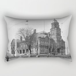 The Knox County Courthouse in Knoxville, Tennessee Rectangular Pillow
