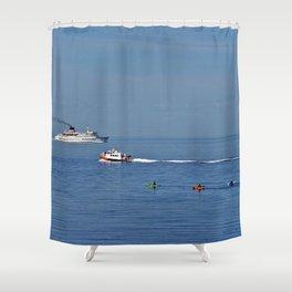 Fun on the Sea Shower Curtain