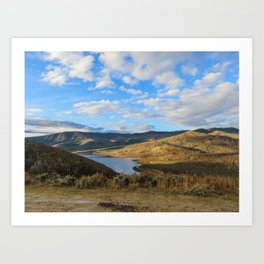 Currant Creek Art Print