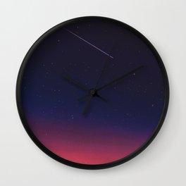 Shooting Star Wall Clock