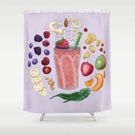 Smoothie Diagram Shower Curtain