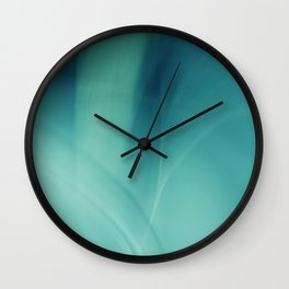 Underwater - Deep Blue Sea (abstract) Wall Clock