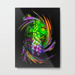 Flowermagic - Thimble Metal Print