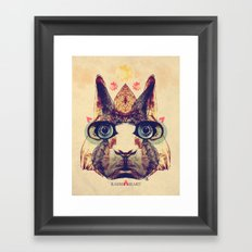 Rabbit Heart Framed Art Print
