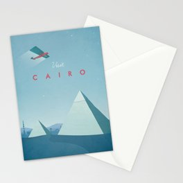 Cairo - Vintage Travel Poster Stationery Cards