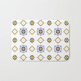 Majolica pattern Bath Mat