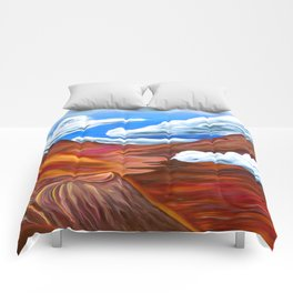 Together At Haleakalā Comforters