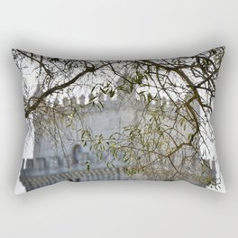 Belem Tower Through Trees Rectangular Pillow