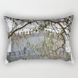 Belem Tower Through Trees Rectangular Pillow