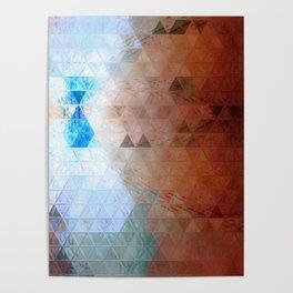 Volcanic ice Poster