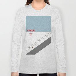 Fargo minimalist poster Long Sleeve T-shirt