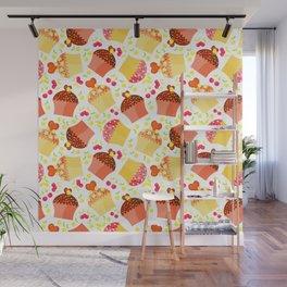 Sweet sweet pattern. Wall Mural