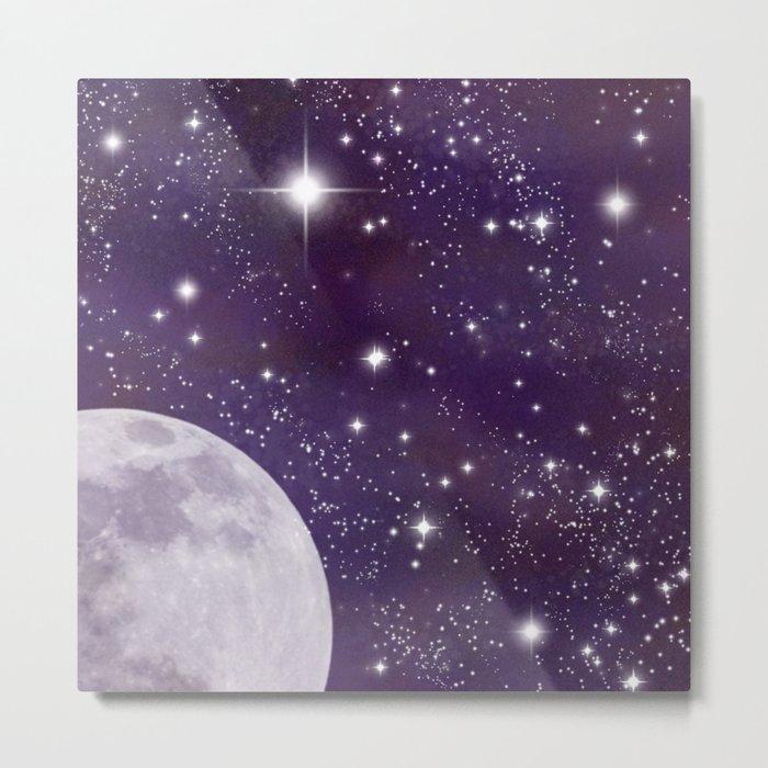 Cosmic Moon  Metal Print