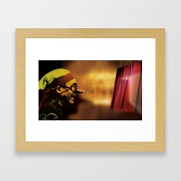 The Truth Seeker Framed Art Print