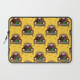 Car Pattern Laptop Sleeve