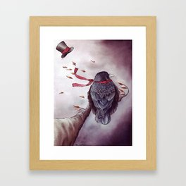 The Storm is Coming Framed Art Print