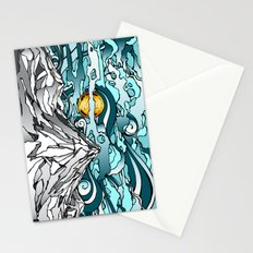 Turquoise Sky Stationery Cards