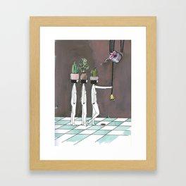 wait your turn Framed Art Print
