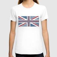 uk T-shirts featuring Lovely UK by Anita Ivancenko