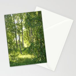Beautiful Morning Summer Greenery #decor #society6 #buyart Stationery Cards