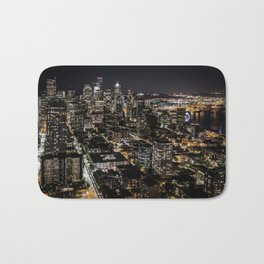 Seattle from the Space Needle Bath Mat