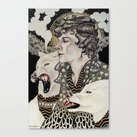superwholock Canvas Prints featuring The Hounds by Savana Jonau