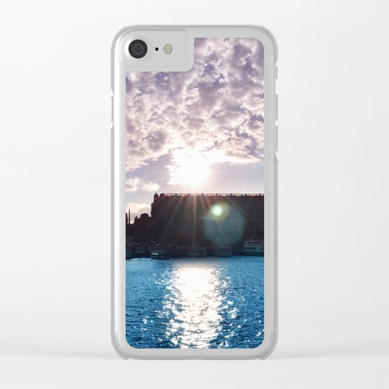 Pastel vibes 35 Clear iPhone Case