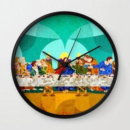 Curves - Last Supper Wall Clock