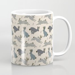 Jackalope Snow Parade Coffee Mug