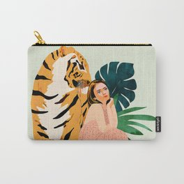 Tiger Spirit Carry-All Pouch