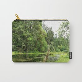 Hoh Rainforest Scene Carry-All Pouch