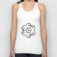 positive Tank Tops featuring Positive by Dizzy Moments