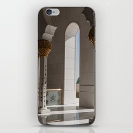 Sheikh Al Zayed mosque Abu Dhabi nº2 iPhone Skin