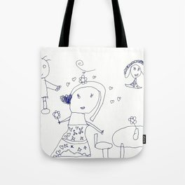 HAPPY FAMILY by Jasmine Wilkes Tote Bag