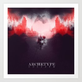 Archetype: Goliath Art Print