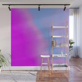 pink blue purple Wall Mural