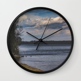 Everything Left Unknown Wall Clock